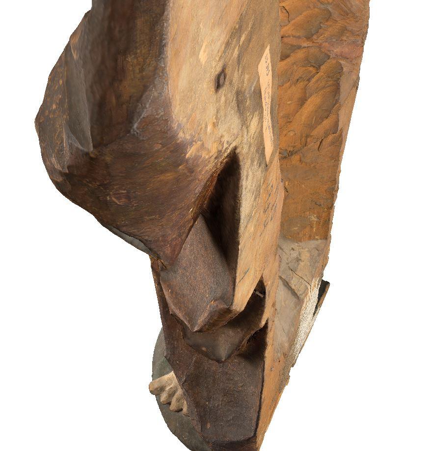 Szlatvini Keresztelő Szent János faszobor